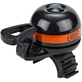 BBB EasyFit Deluxe BBB-14 Bike Bell orange/black